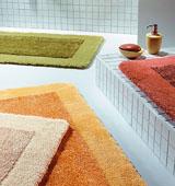 выбираем коврики для ванной комнаты
