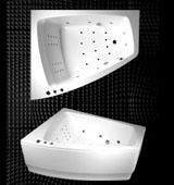 Характеристики угловых ванн