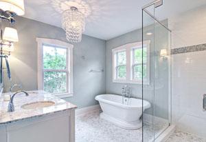 правильно выбрать люстру для ванной комнаты