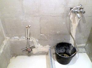 Обновление сантехники в ванной