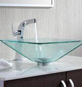 Преимущества стеклянных раковин