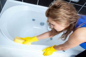 Чем лучше отмыть ванну из мрамора