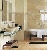 Отделка стен в ванной комнате керамической плиткой