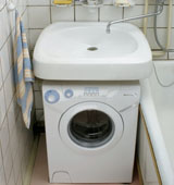 Этапы установки стиральной машины