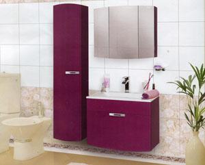 Выбираем мебель для ванной Valente