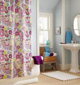 Применение пластиковых шторок в ванной