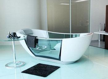 Характеристики прозрачных ванн