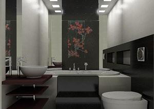 Как оформить ванную в японском стиле