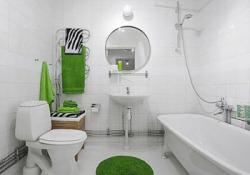 Идеи оформления ванной комнаты в черно-белом цвете