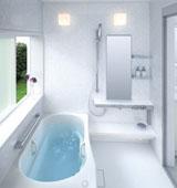 В каком стиле можно выполнить белую ванную комнату