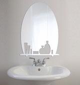Как выбрать декоративное зеркало в ванную