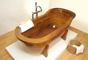 Преимущества и недостатки деревянных ванн