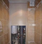 Как спрятать трубы в ванной с помощью декоративного корпуса