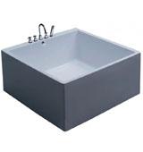 Разновидности квадратных ванн
