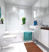 Как выполнить совмещение туалета и ванной комнаты