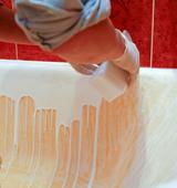 Как осуществлять покрытие ванны акрилом