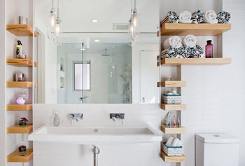 Как сделать полочку для ванной комнаты своими руками