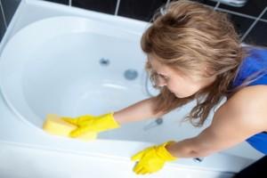 Правильный уход за ванной из акрила
