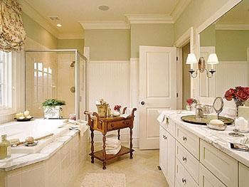 Классический стиль мебели для ванной