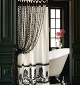 Разновидности занавесок для ванной