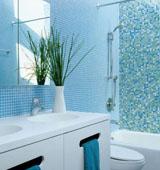 Какие материалы следует применять в процессе оформления ванной