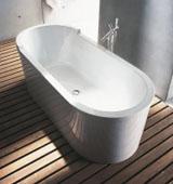 Как выбрать ванну овальной формы