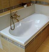 Какими методами осуществляется установка акриловой ванны