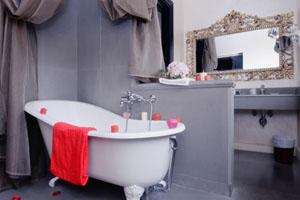 Варианты оформления ванной комнаты в ретро стиле