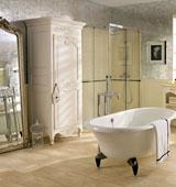 Как создается классический стиль ванной комнаты